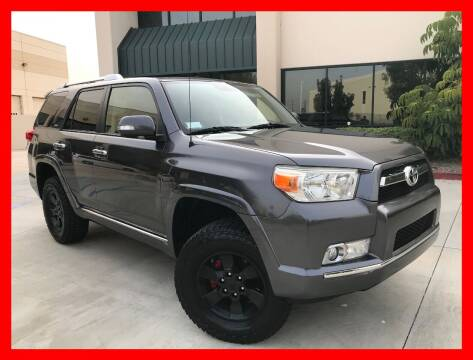 2013 Toyota 4Runner for sale at Cruise Autos in Corona CA