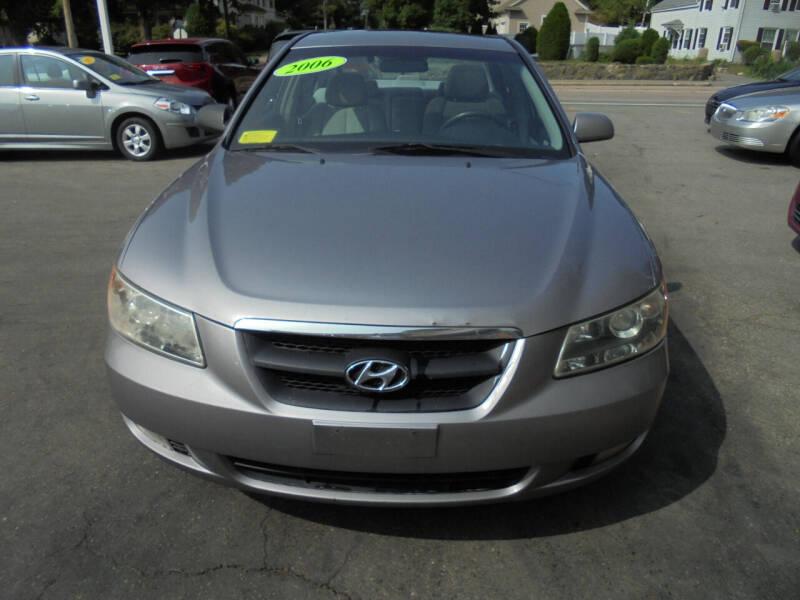 2006 Hyundai Sonata for sale at Washington Street Auto Sales in Canton MA