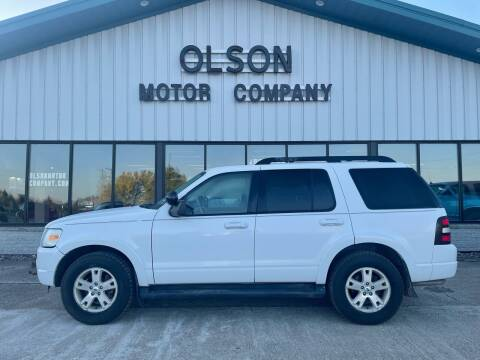 2010 Ford Explorer for sale at Olson Motor Company in Morris MN