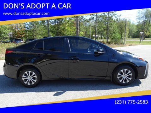 2019 Toyota Prius for sale at DON'S ADOPT A CAR in Cadillac MI
