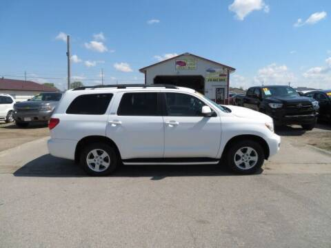 2009 Toyota Sequoia for sale at Jefferson St Motors in Waterloo IA