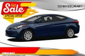 2011 Hyundai Elantra for sale at GOWHEELMART in Leesville LA