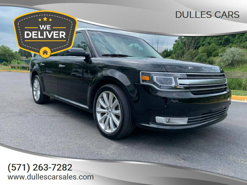 2014 Ford Flex for sale at Dulles Cars in Sterling VA