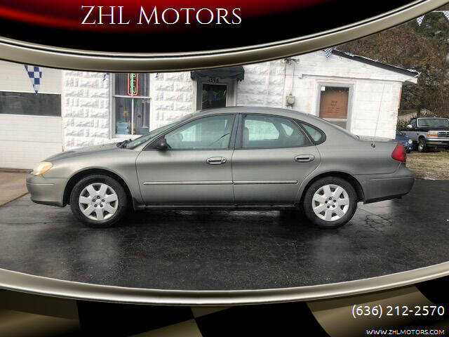 2001 Ford Taurus for sale at ZHL Motors in House Springs MO