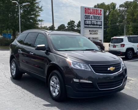 2017 Chevrolet Traverse for sale at Reliable Cars & Trucks LLC in Raleigh NC