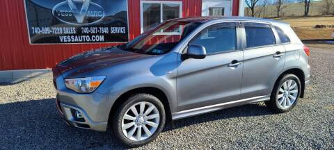 2011 Mitsubishi Outlander Sport for sale at Vess Auto in Danville OH