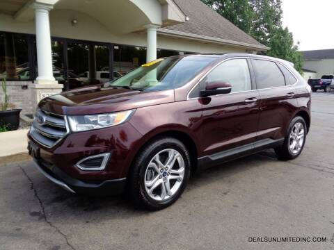 2018 Ford Edge for sale at DEALS UNLIMITED INC in Portage MI