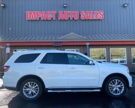2015 Dodge Durango for sale at Impact Auto Sales in Wenatchee WA