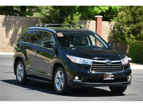 2015 Toyota Highlander for sale at A-1 Auto Wholesale in Sacramento CA
