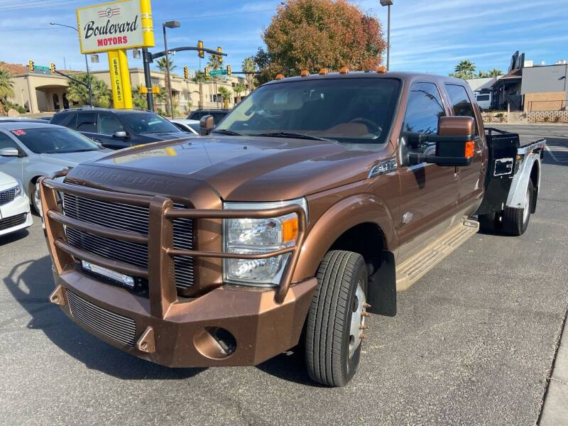 2011 Ford F-350 Super Duty for sale at Boulevard Motors in St George UT