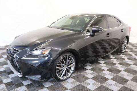 2017 Lexus IS 300 for sale at AH Ride & Pride Auto Group in Akron OH