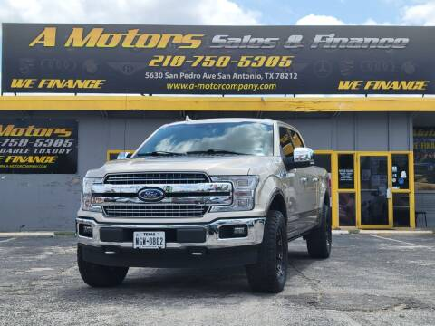 2018 Ford F-150 for sale at A MOTORS SALES AND FINANCE - 5630 San Pedro Ave in San Antonio TX