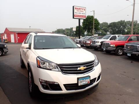 2014 Chevrolet Traverse for sale at Marty's Auto Sales in Savage MN