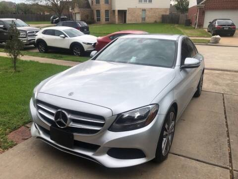 2018 Mercedes-Benz C-Class for sale at 4 Girls Auto Sales in Houston TX