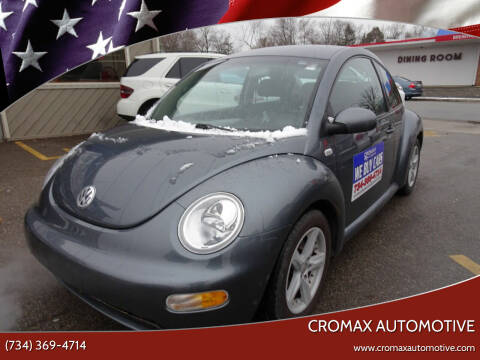 2003 Volkswagen New Beetle for sale at Cromax Automotive in Ann Arbor MI