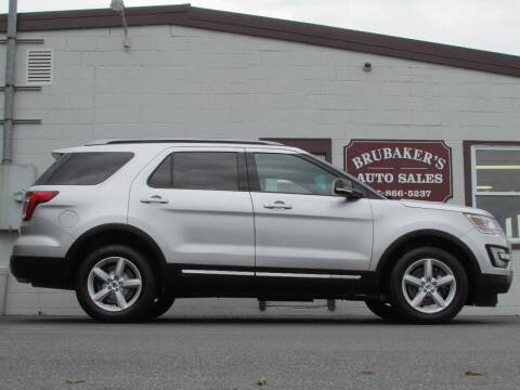 2017 Ford Explorer for sale at Brubakers Auto Sales in Myerstown PA