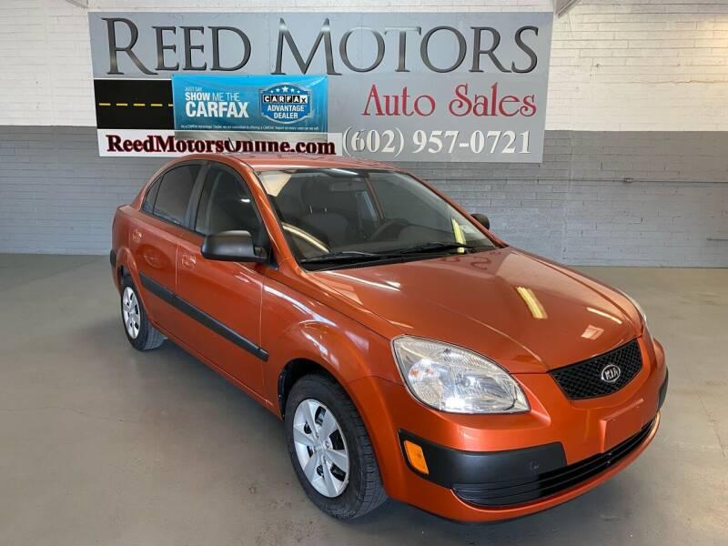 2009 Kia Rio for sale at REED MOTORS LLC in Phoenix AZ