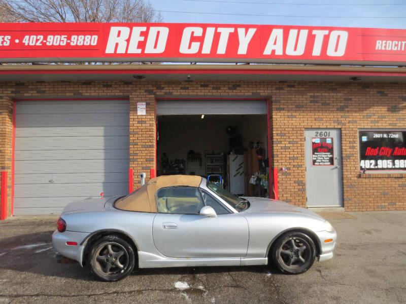 2000 Mazda MX-5 Miata for sale at Red City  Auto in Omaha NE