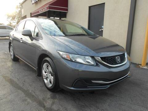 2013 Honda Civic for sale at AutoStar Norcross in Norcross GA