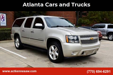 2014 Chevrolet Suburban for sale at Atlanta Cars and Trucks in Kennesaw GA