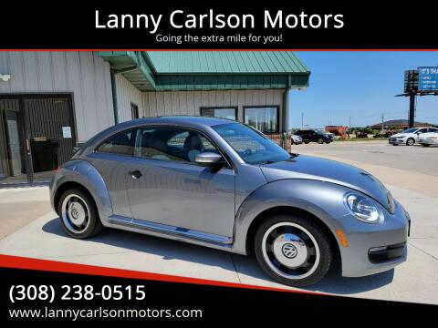 2016 Volkswagen Beetle for sale at Lanny Carlson Motors in Kearney NE