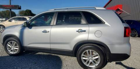 2014 Kia Sorento for sale at MIKE'S CYCLE & AUTO in Connersville IN