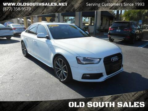 2016 Audi A4 for sale at OLD SOUTH SALES in Vero Beach FL