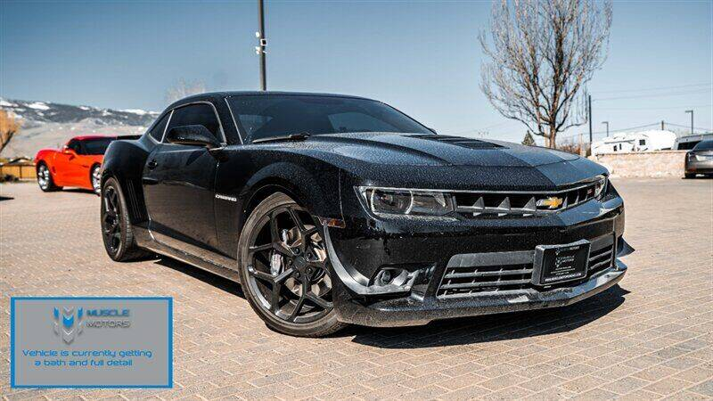 2014 Chevrolet Camaro for sale at MUSCLE MOTORS AUTO SALES INC in Reno NV