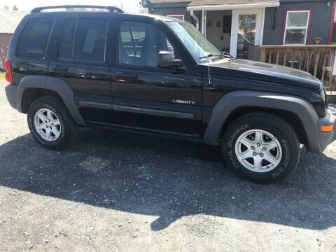 2004 Jeep Liberty for sale at PENWAY AUTOMOTIVE in Chambersburg PA