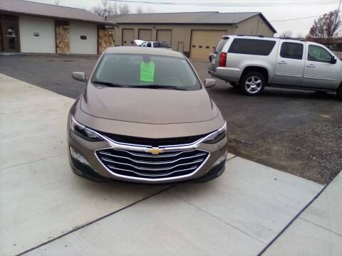 2020 Chevrolet Malibu for sale at Four Guys Auto in Cedar Rapids IA