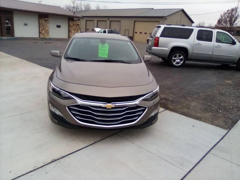 2020 Chevrolet Malibu for sale at Four Guys Auto in Cedar Rapids IA