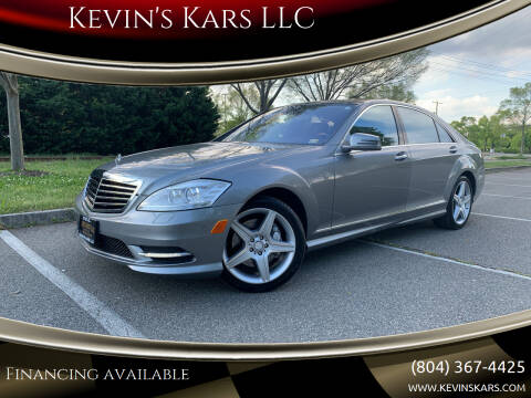 2010 Mercedes-Benz S-Class for sale at Kevin's Kars LLC in Richmond VA