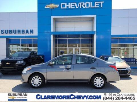 2016 Nissan Versa for sale at Suburban Chevrolet in Claremore OK