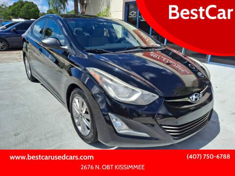 2014 Hyundai Elantra for sale at BestCar in Kissimmee FL