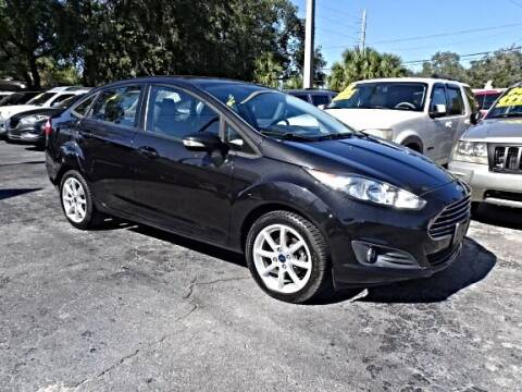 2014 Ford Fiesta for sale at DONNY MILLS AUTO SALES in Largo FL