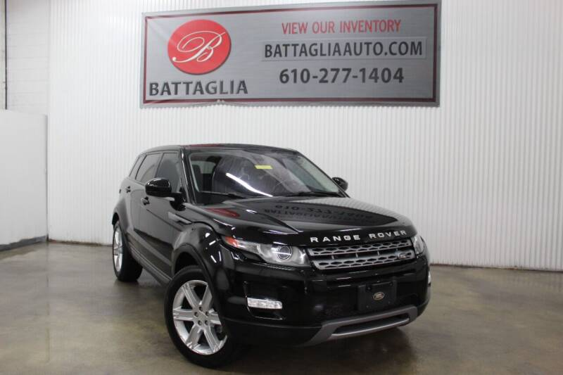 2014 Land Rover Range Rover Evoque for sale at Battaglia Auto Sales in Plymouth Meeting PA