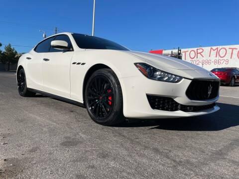 2018 Maserati Ghibli for sale at Boktor Motors in Las Vegas NV