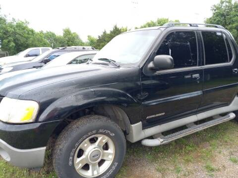2002 Ford Explorer Sport Trac for sale at C & R Auto Sales in Bowlegs OK