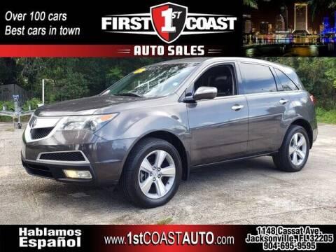 2011 Acura MDX for sale at 1st Coast Auto -Cassat Avenue in Jacksonville FL