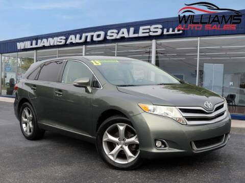 2013 Toyota Venza for sale at Williams Auto Sales, LLC in Cookeville TN