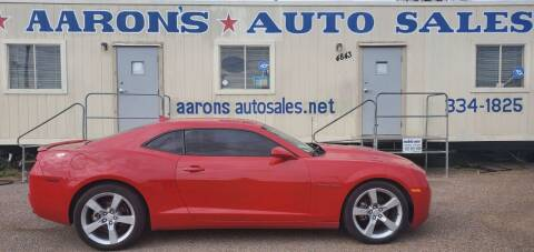 2012 Chevrolet Camaro for sale at Aaron's Auto Sales in Corpus Christi TX