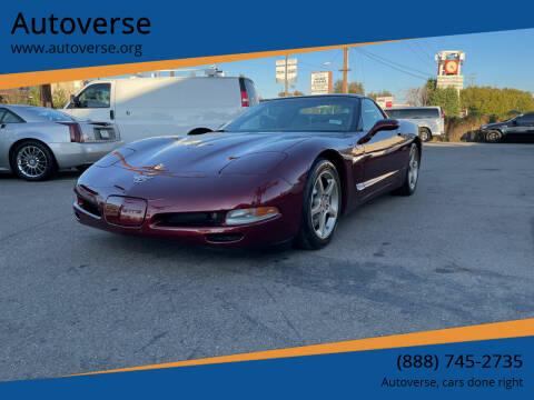 2003 Chevrolet Corvette for sale at Autoverse in La Habra CA