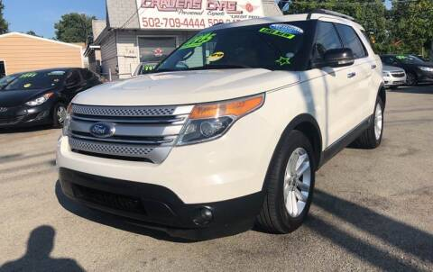 2011 Ford Explorer for sale at Craven Cars in Louisville KY