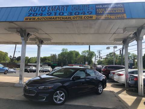 2016 Chevrolet Malibu for sale at Auto Smart Charlotte in Charlotte NC