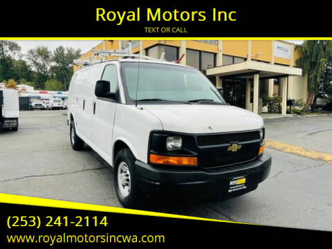 2011 Chevrolet Express Cargo for sale at Royal Motors Inc in Kent WA