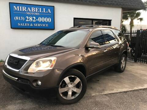 2011 GMC Acadia for sale at Mirabella Motors in Tampa FL