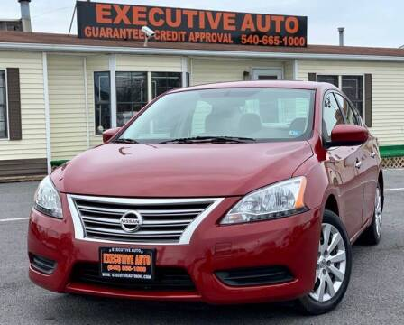 2013 Nissan Sentra for sale at Executive Auto in Winchester VA