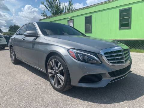 2015 Mercedes-Benz C-Class for sale at Marvin Motors in Kissimmee FL