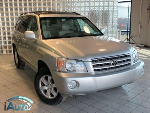 2002 Toyota Highlander for sale at iAuto in Cincinnati OH