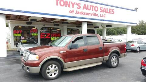2006 Ford F-150 for sale at Tony's Auto Sales in Jacksonville FL
